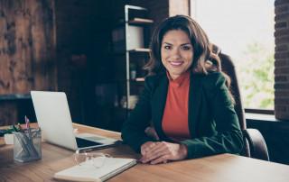 Women Financial Advisor Working